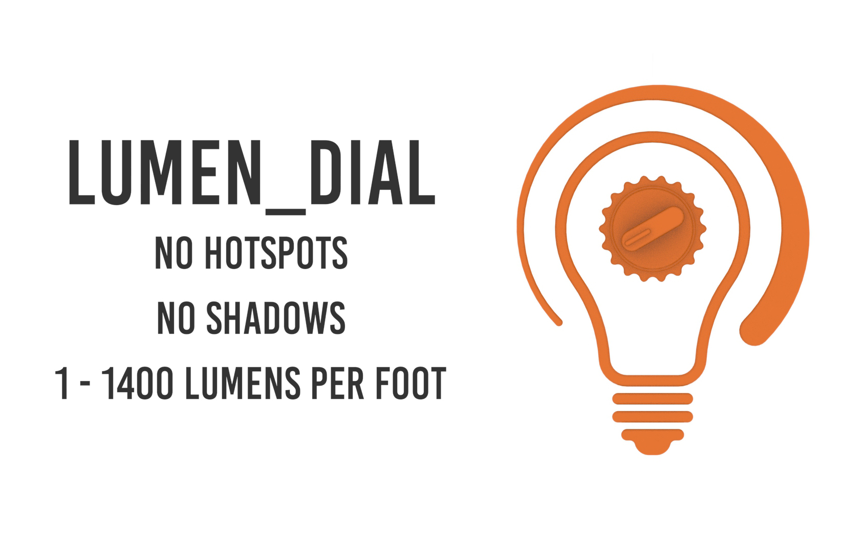 Scout's propriety light engine can be dialed into any lumen value or wattage up to 1,400 lumens / 12 Watts. Since nothing changes on the board Scout can ensure you'll never have a visible hotspot or shadow.